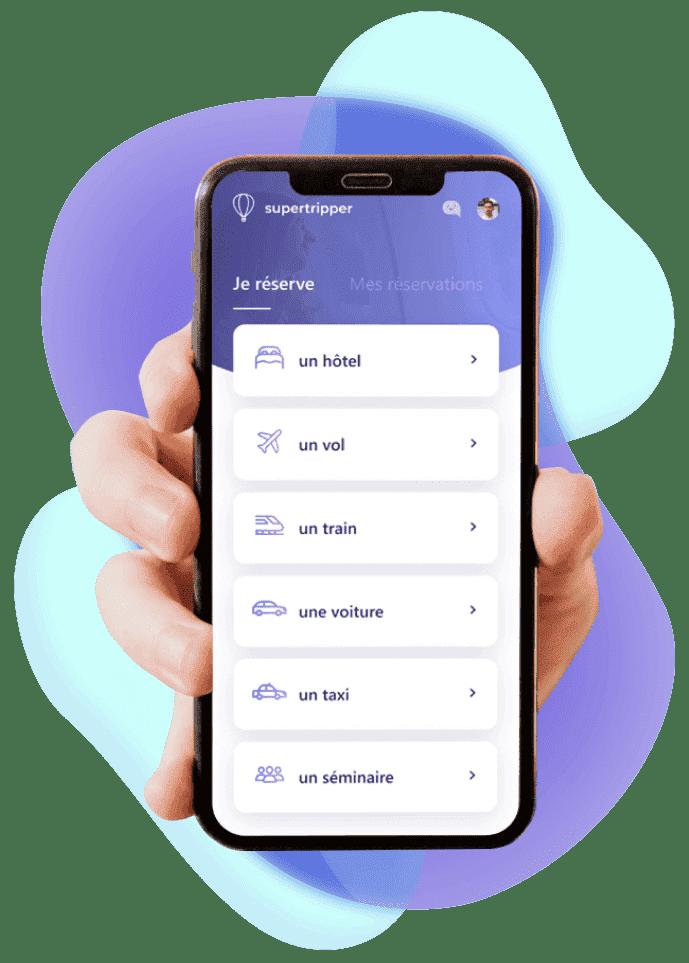aplicación-móvil-de-viajes-de-negocios